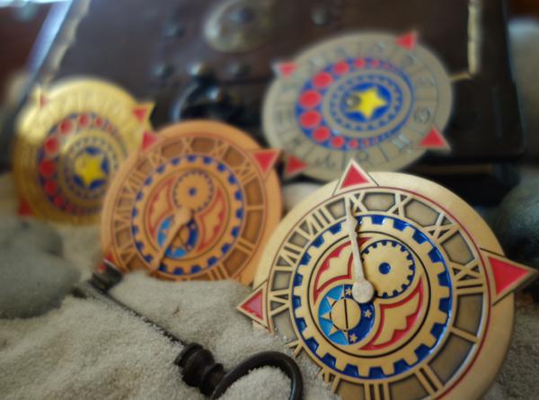 Zodiac Clockklein