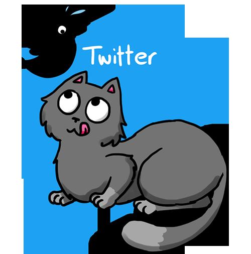 Mietzecacher auf Twitter